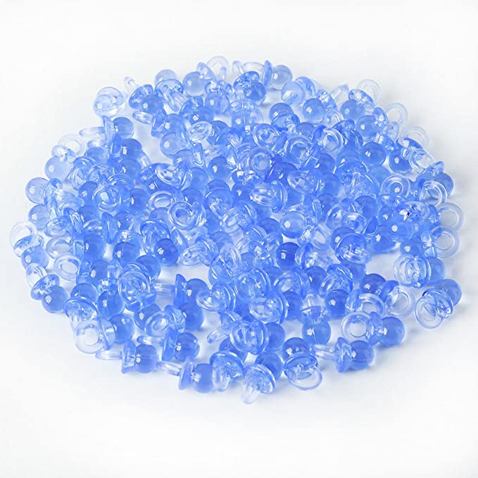 SurePromise One Stop Solution for Sourcing 100pcs Pequeño Chupete de plástico 2cm Colgante para Decorar Recuerdo Bautizo Regalo 20mmx10mm los chupetes ...
