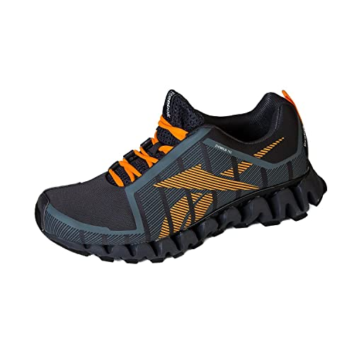 5fcf7f0ab24b Reebok Mens ZigWild TR 2-M Running Shoes 8.5 Grey Firespark Black  Buy  Online at Low Prices in India - Amazon.in