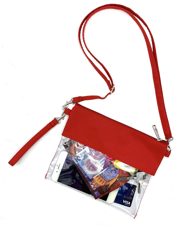 clear gameday crossbody bag