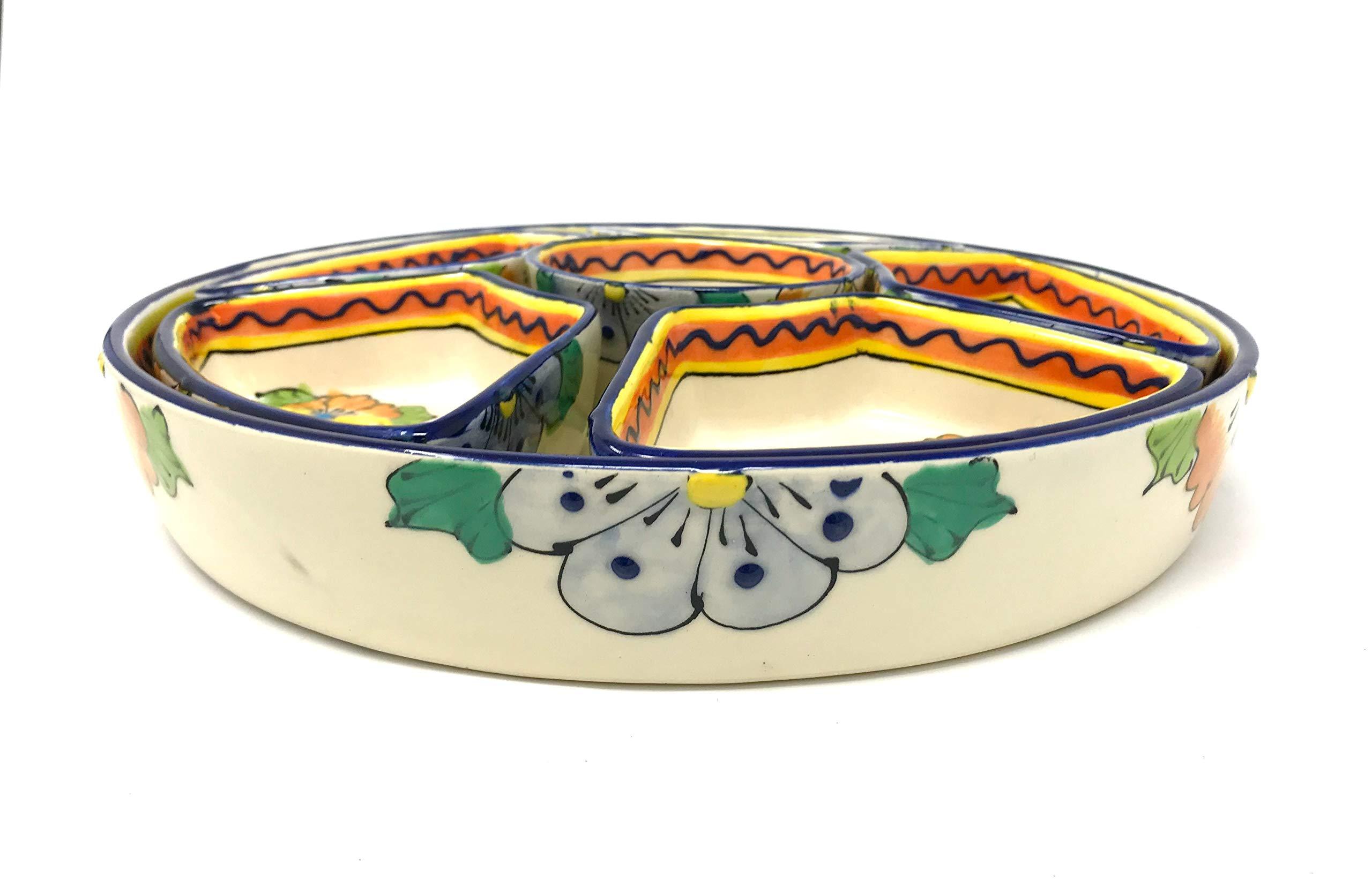 Mexican Talavera Taco Serving Set by Mexican Talavera Pottery (Image #2)
