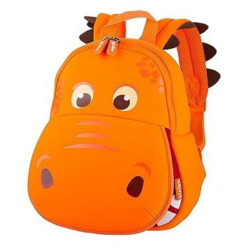 7808e863b088 Nohoo Waterproof Kids Backpack 3D Hippo Cartoon School Hiking Sidesick Bags  Orange  Amazon.ca  Baby
