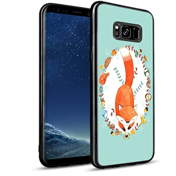 Amazon.com: Fox Samsung Galaxy S8 Plus Case, Samsung Galaxy ...