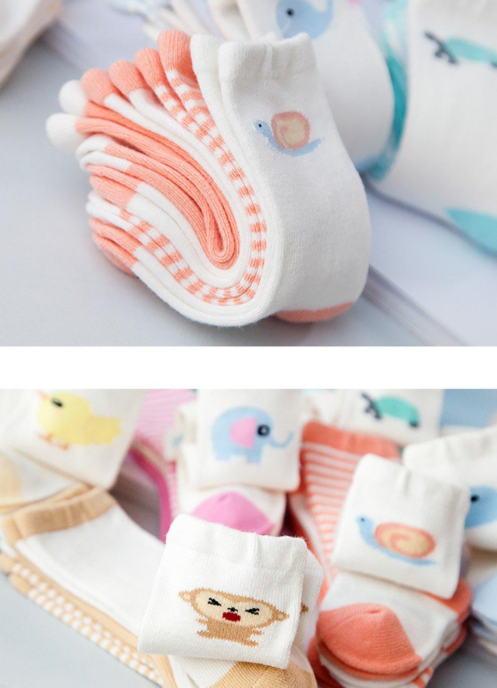fablcrew calcetines bebe Mignon beb/é algod/ón highsocks 2/tonos color Animal modelo/ /Calcetines unisex ballena Talla:talla /única