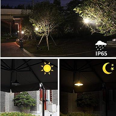 Amazon.com: Elegantes luces LED impermeables retro de ...