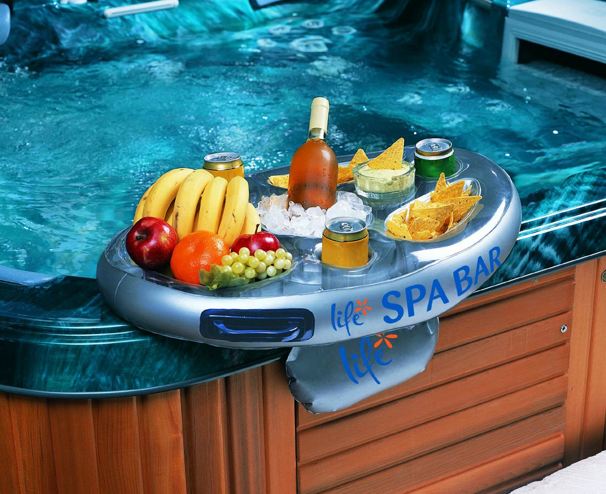 Spa Hot Tub Bar Refreshment Float Tray Cup Holder Food Trays ...