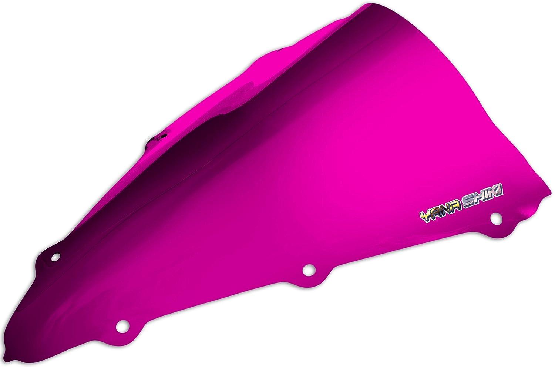 Yana Shiki YW-3007CSI R Series Chrome Silver Windscreen for Yamaha YZF-R1