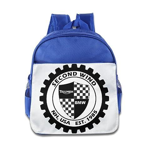 Second Wind Bmw Triumph New Motorcycle Kid Hisper Lunch Bag School