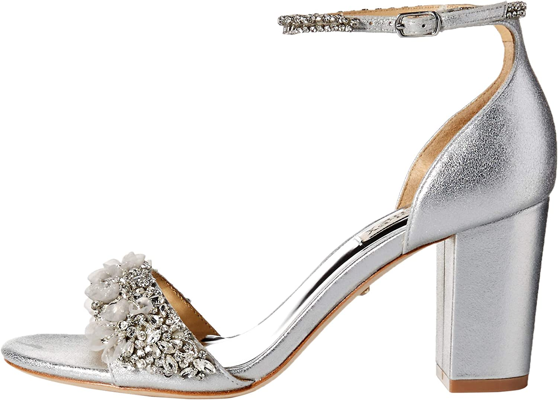 Badgley Mischka Womens Finesse Ii Heeled Sandal