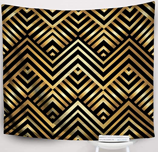 Amazon.com: Crannel Big Tapestry,Abstract Geometric Pattern in Art ...