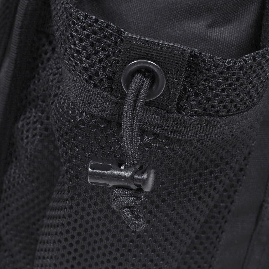 Noir Seibertron moto Multifonctionnel Tactique Messenger Assault Gear Sling Pack Range Bag Heavy Duty Shoulder Strap Hiking EDC Messenger Molle Bag Travel Sac compact militaire utilitaire appareil photo