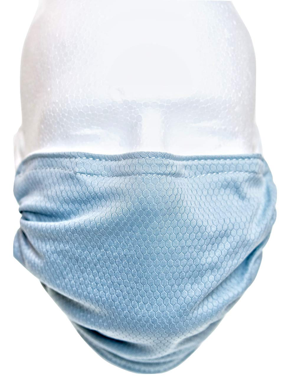 BioBoost Washable Adjustable Antimicrobial Dust Pollen Reusable Surgical Mask (Grey)