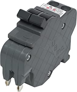 UBIF0220N-New Federal Pacific Electric Stab-Lok NC220 Replacement.Two Pole 20 Amp Thin Series Manufactured by Connecticut Electric