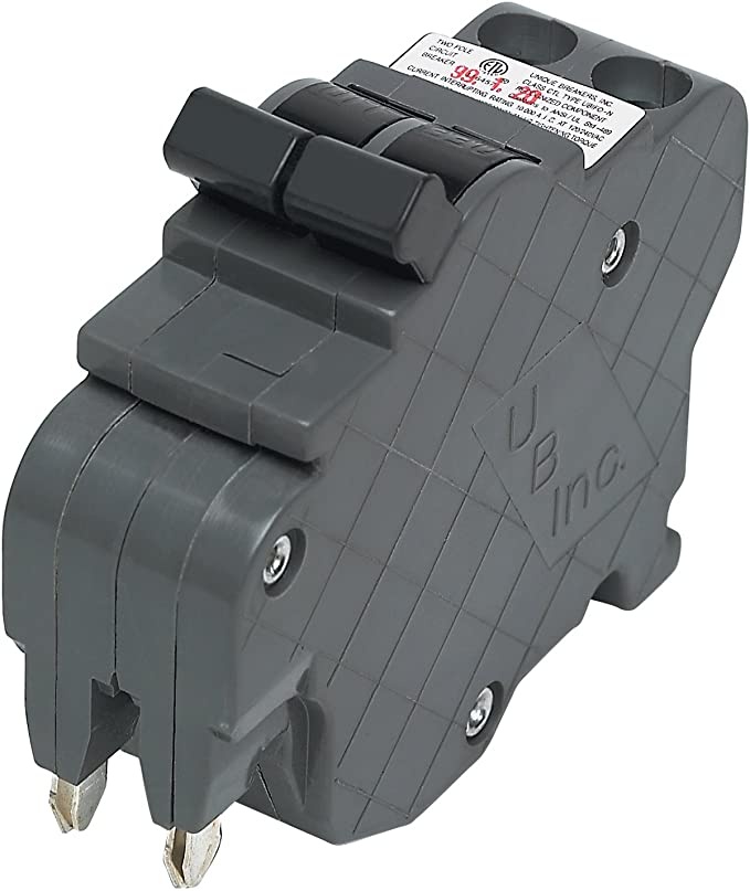 American/Federal Pacific Circuit Breaker, 2-Pole 15-Amp Thin Series