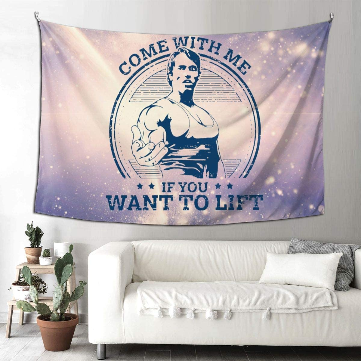 NOT Come with ME-IF You Want to Lift Tapestry 9060 Inch