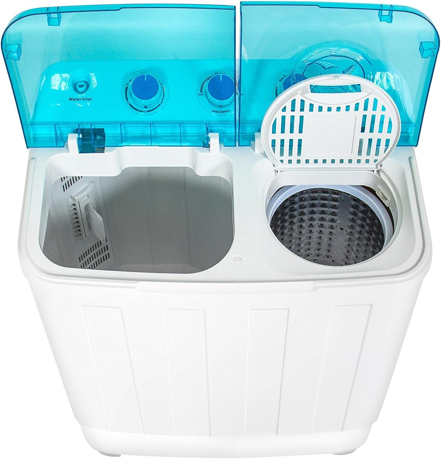 Mejor elección productos Portable Mini Twin Tub compacto lavadora ...