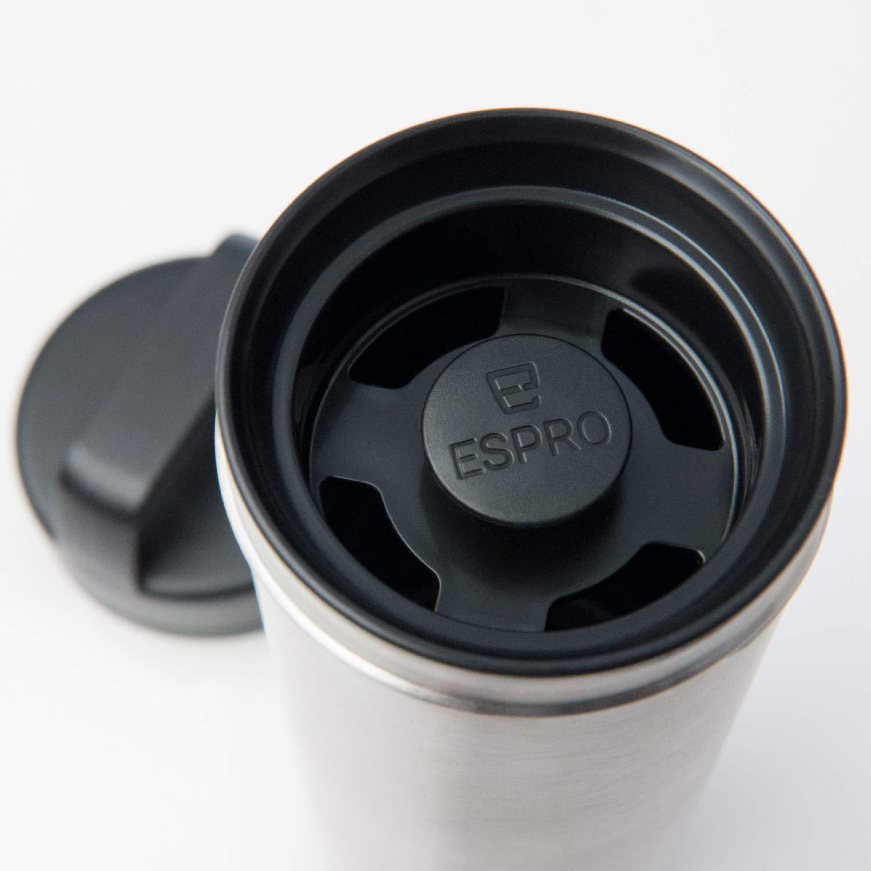 espro 17677/termo de viaje con filtro de caf/é color negro