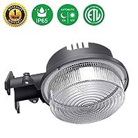 Amazon.com deals on Minger 30W Dusk to Dawn LED Outdoor Barn Light Photocell