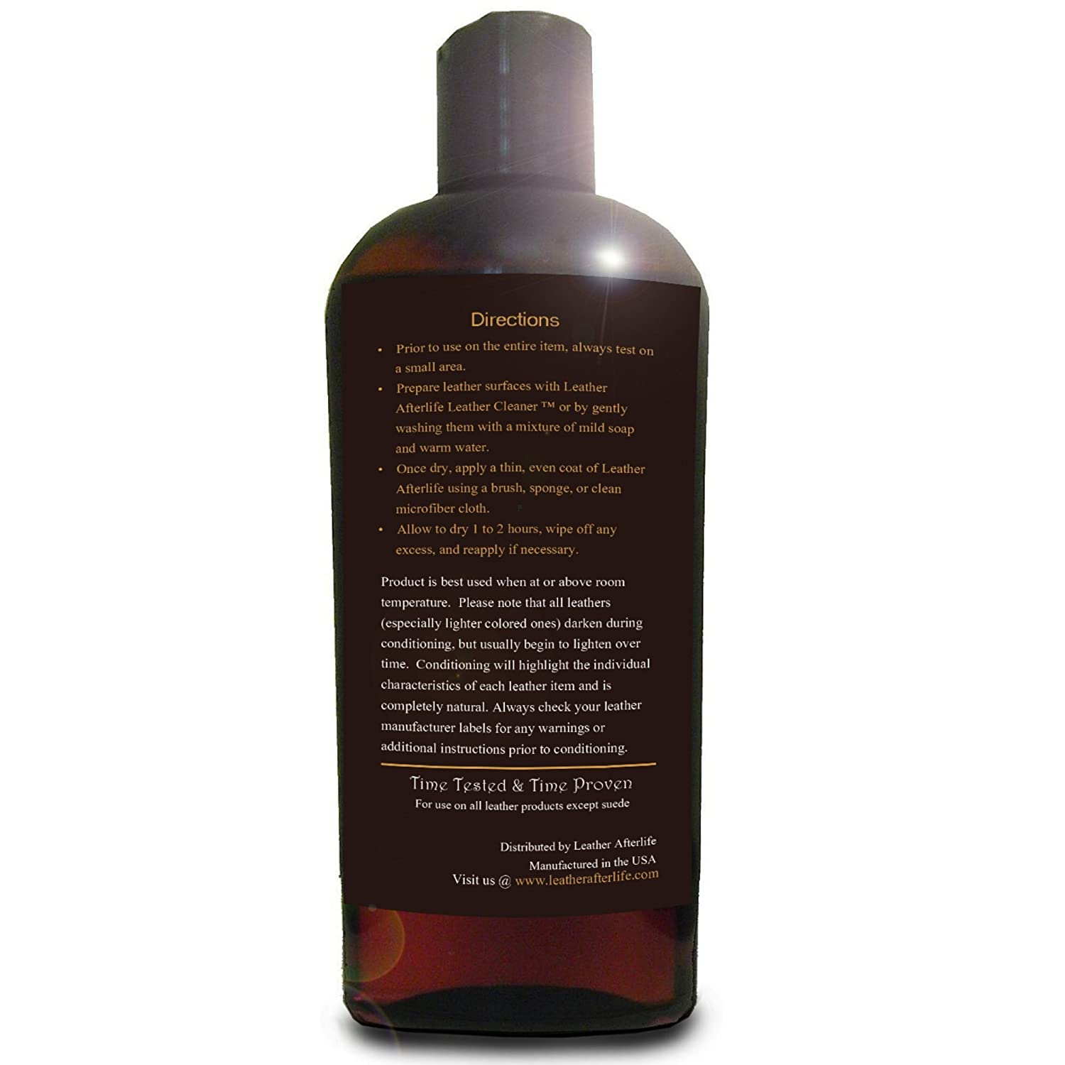 Amazon.com: Leather Afterlife Leather Conditioner - The Best ...