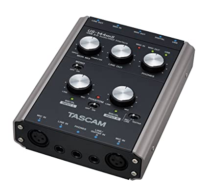 Tascam US-144MKII USB Audio Interface