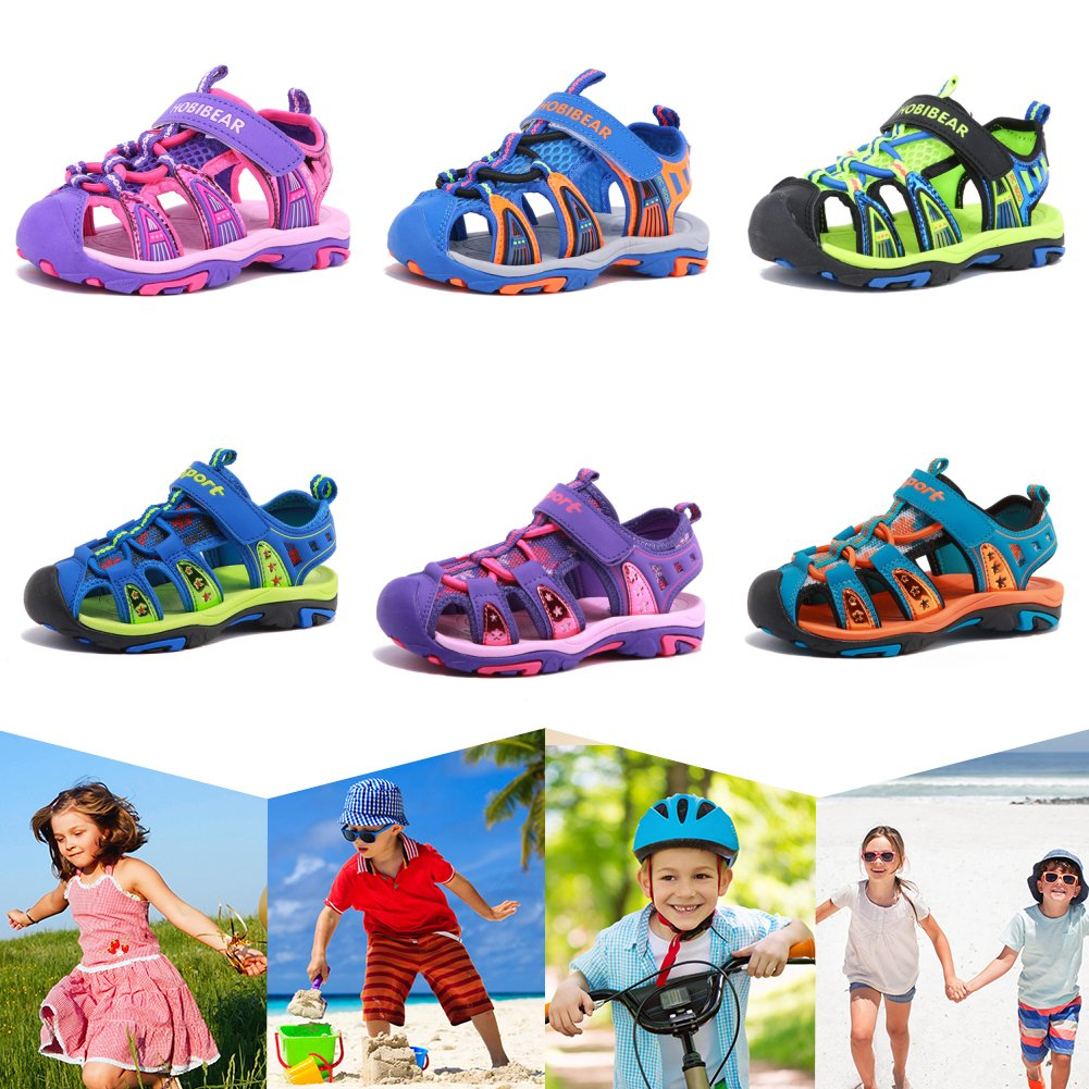 CIOR Fantiny Girl/'s Boys Sports/ Sandals/ Open Toe/ Athletic Beach Shoes/  Toddler//Little Kid//Big Kid