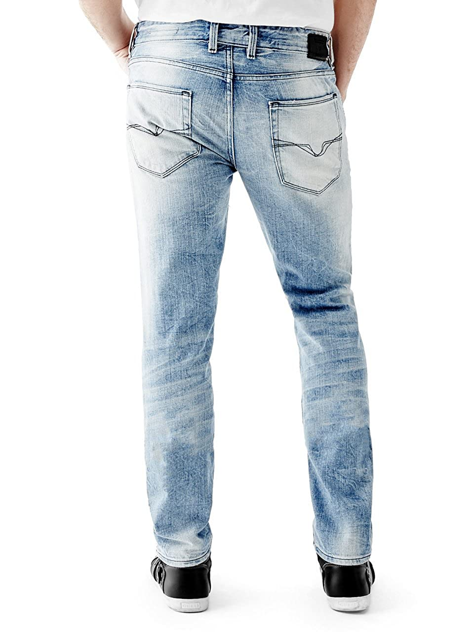 GUESS Mens Slim Straight Jean