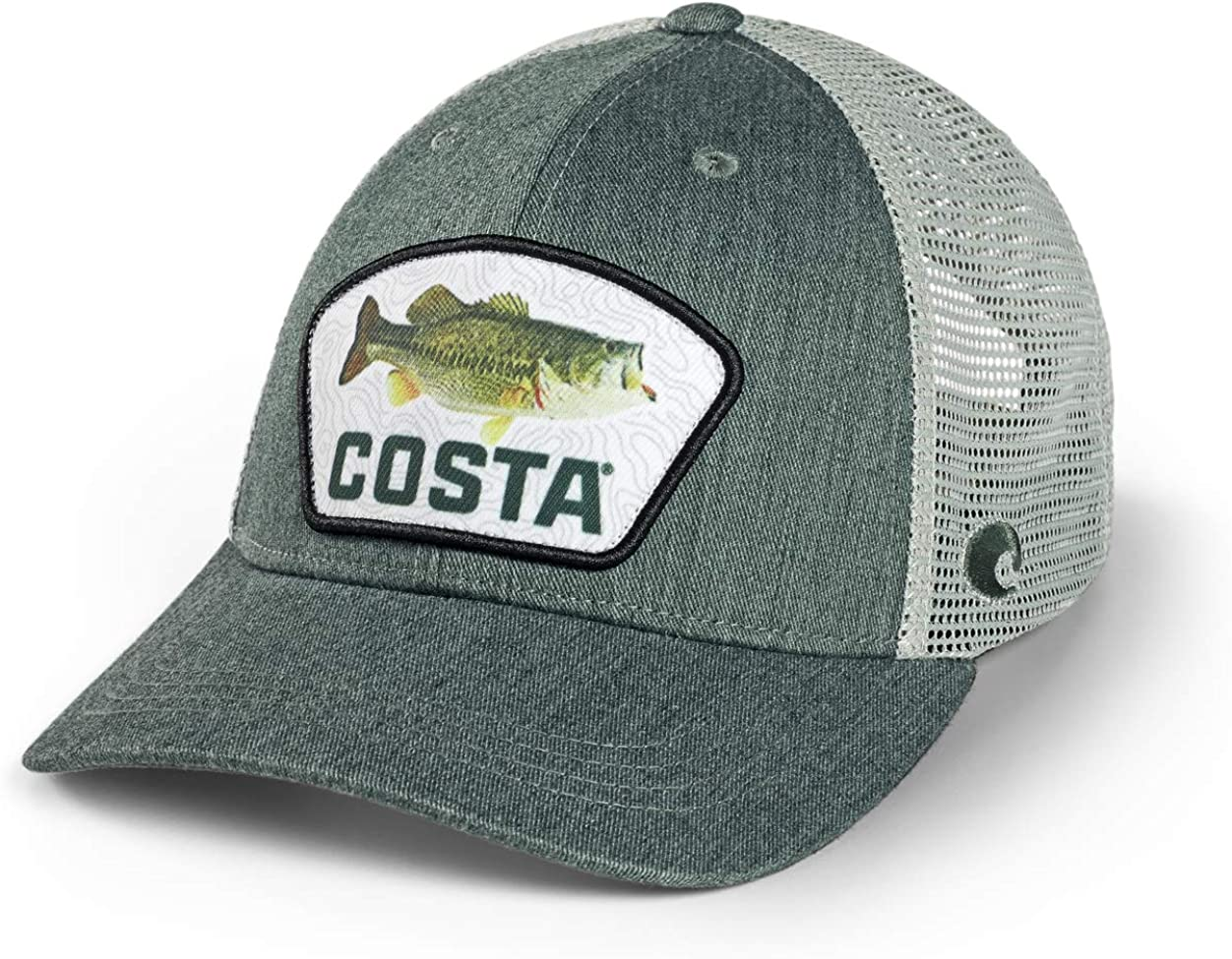 Costa Del Mar Trucker Green Heather Largemouth Bass XL