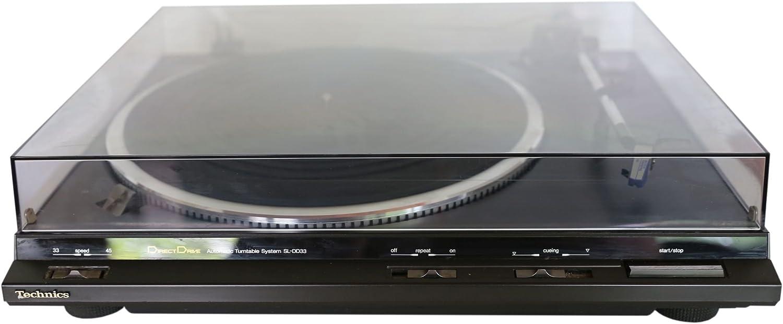 Technics SL de DD33 Direct Drive Tocadiscos: Amazon.es: Electrónica