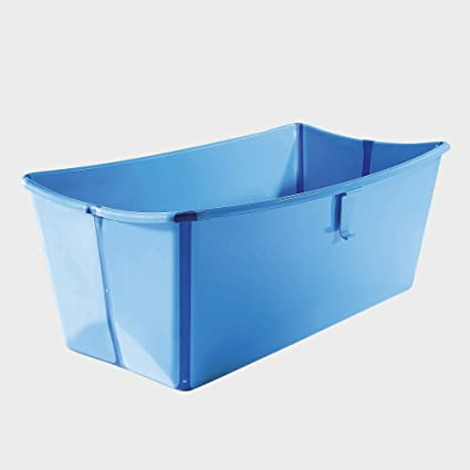 bc5cfcf69 Stokke - Bañera plegable Flexi Bath azul: Amazon.es: Bebé