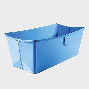 Stokke Flexi Bath Baignoire Pliable Bleu Amazonfr Bébés
