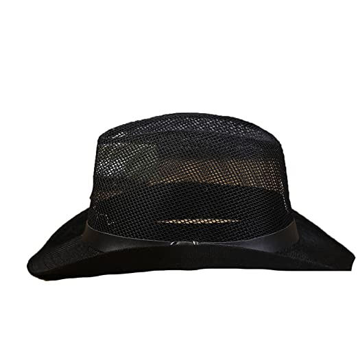 70d7d48e287 Collocation-Online Hat Men Summer Western Cowboy mesh Big Outdoor Travel  Visor Young and Old