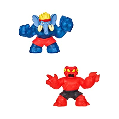 Heroes of Goo Jit Zu-Redback and Gigatusk Hero Pack: Toys & Games