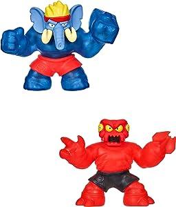 Heroes of Goo Jit Zu-Redback and Gigatusk Hero Pack