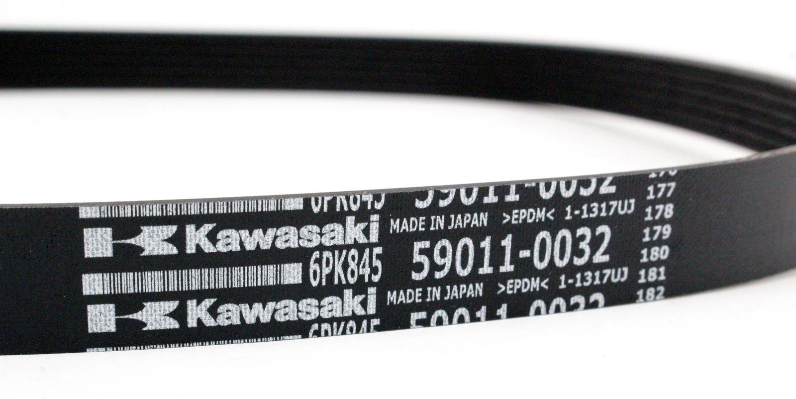 Kawasaki 2011-2018 Jet Ski Ultra 300Lx Jet Ski Ultra 310X Se 6Pk845 Belt 59011-0032 New Oem by Kawasaki (Image #2)