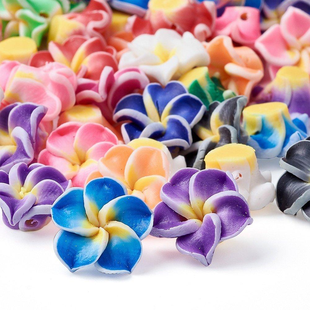 Floral Shape Handmade Beads