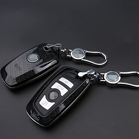 Leather Key Cover Case Bag For BMW 1 2 3 5 7 Series F10 F20 F30 335 328 535 650