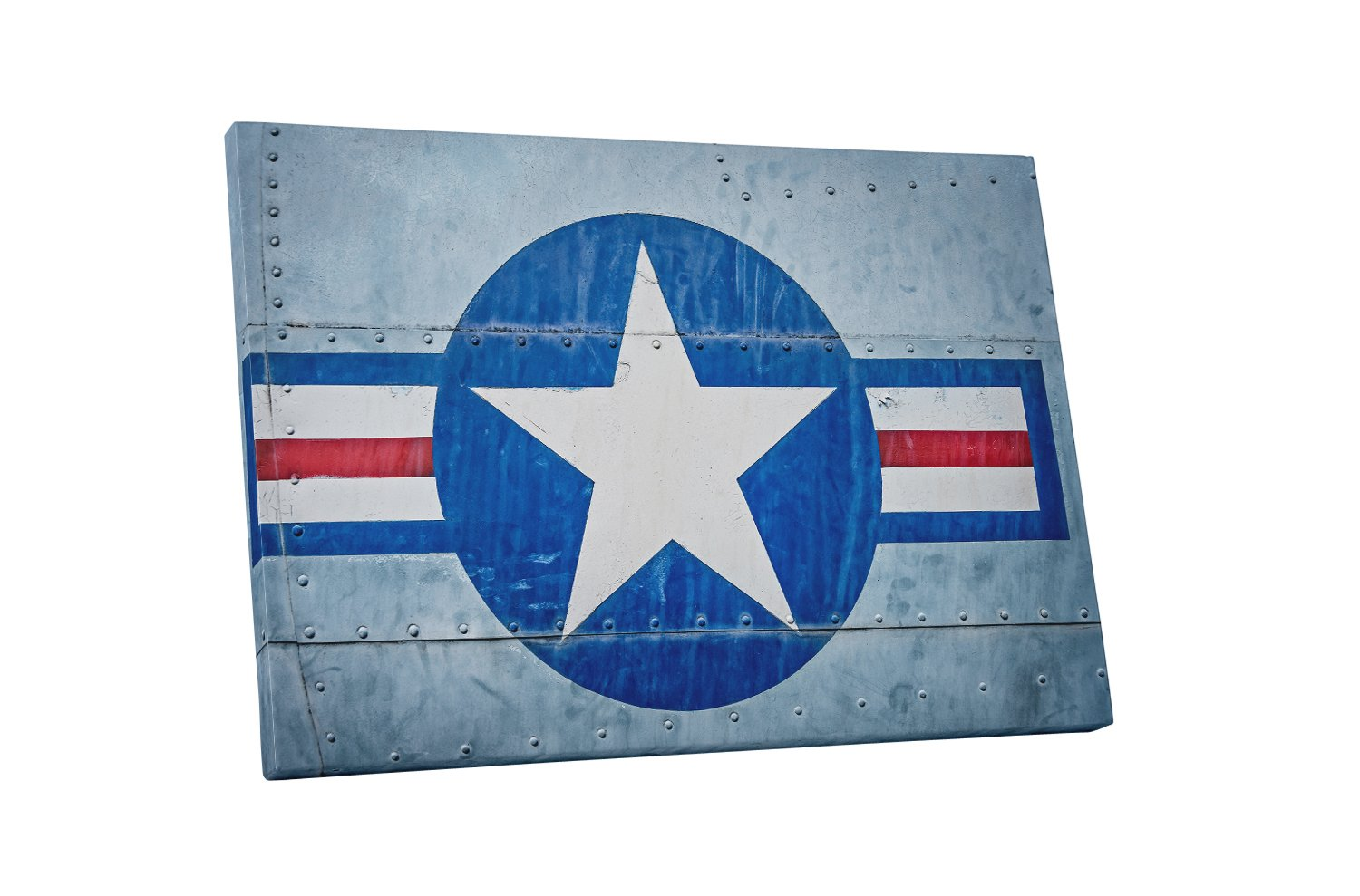 Pingo World 0715Q82EIKS US Air Force Flag Gallery Wrapped Canvas Wall Art (30'' x 20''), Variable by Pingo World
