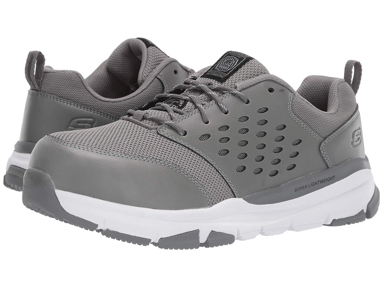 トップ [スケッチャーズ] メンズスニーカーランニングシューズ靴 B07P6LG3TB Soven cm Alloy Toe SR D [並行輸入品] B07P6LG3TB グレー/ホワイト 28.0 cm D 28.0 cm D グレー/ホワイト, カトリグン:21d9d8df --- svecha37.ru