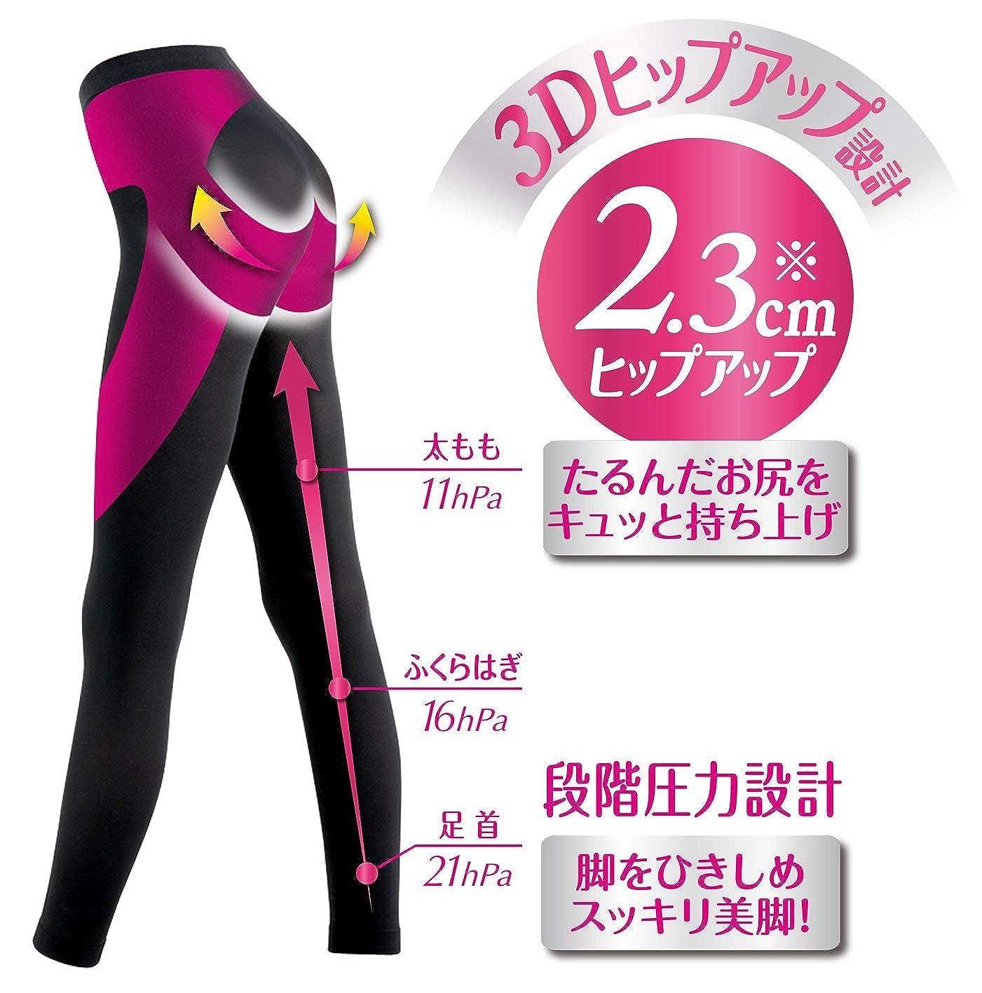 Japanese socks and tights Slim Walk Beau Acty socks Legs /& Nice Bottom leggings,Black M ~ L size