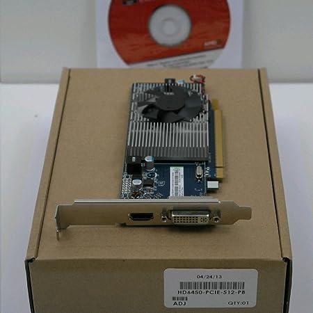 Amazon Com Ati Radeon Hd 6450 512mb Ddr3 Pci Express Pci E Dvi Video Card W Hdmi Hdcp Support Computers Accessories