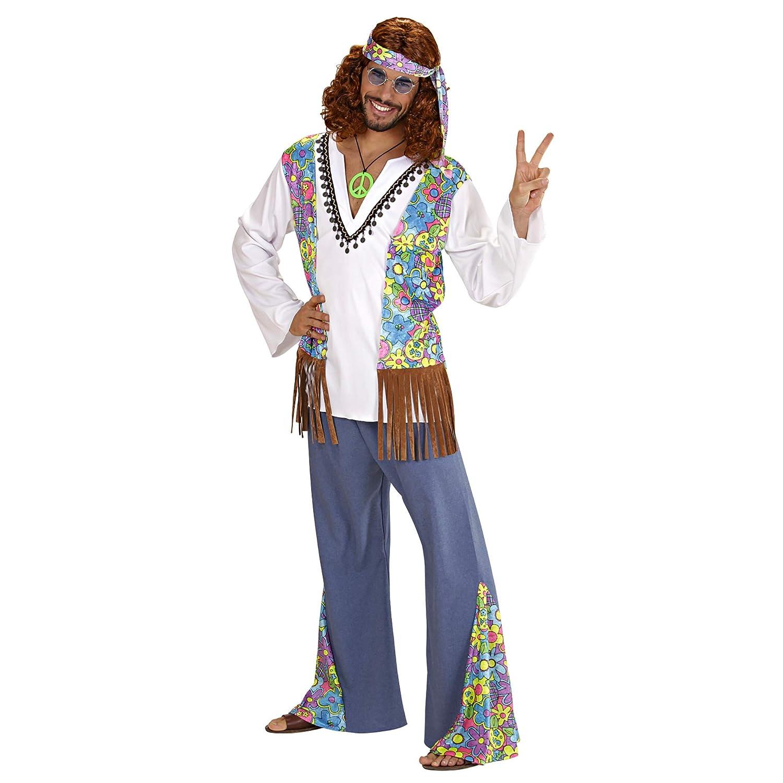 39289cde8161 WIDMANN - Hippie Woodstock Costume da Figlio dei Fiori, in Taglia XL:  Amazon.it: Giochi e giocattoli
