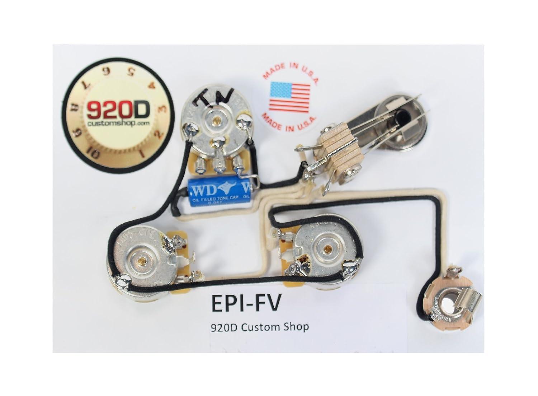 Epiphone Pickup Wiring Diagrams V