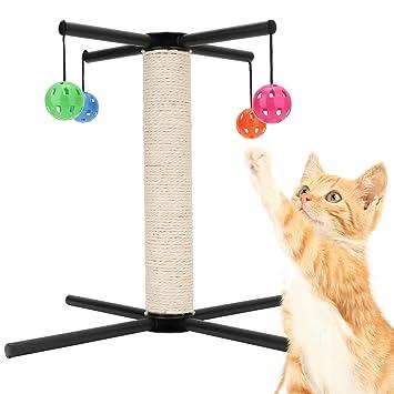 Hengu Rascador de uña de Gato, Postes rascadores para Gatos ...