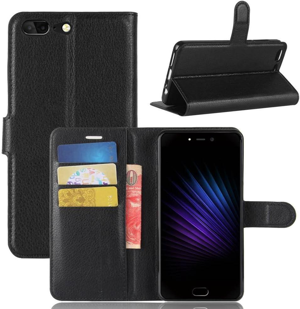 Guran® Funda de Cuero PU para Leagoo T5 Smartphone Función de ...