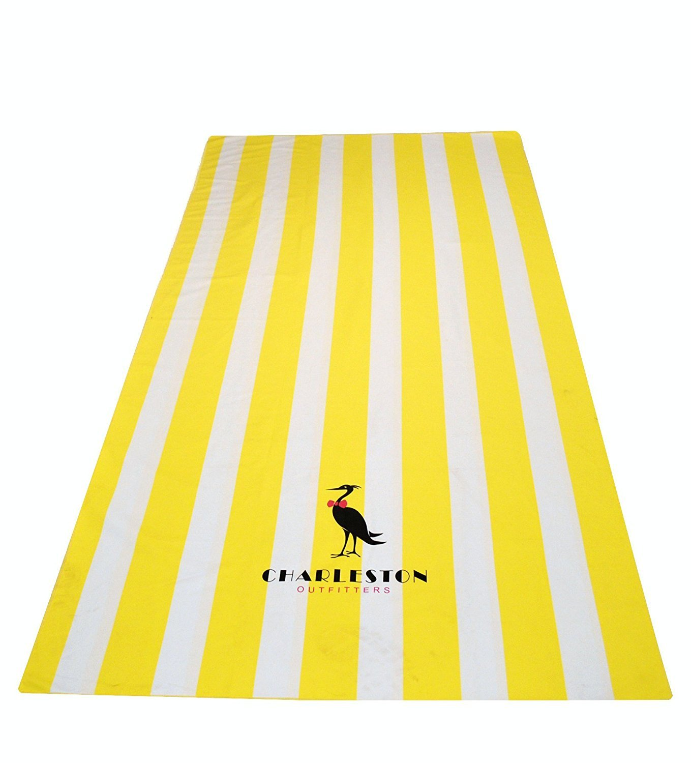 XL Yellow Charleston Outfitters COMIN18JU086296 Microfiber Beach Towel