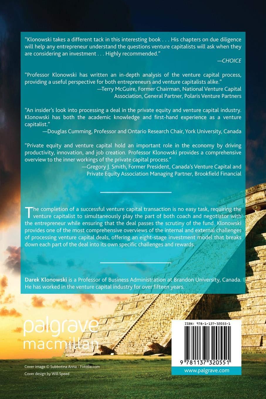The Venture Capital Investment Process: Amazon co uk: D  Klonowski