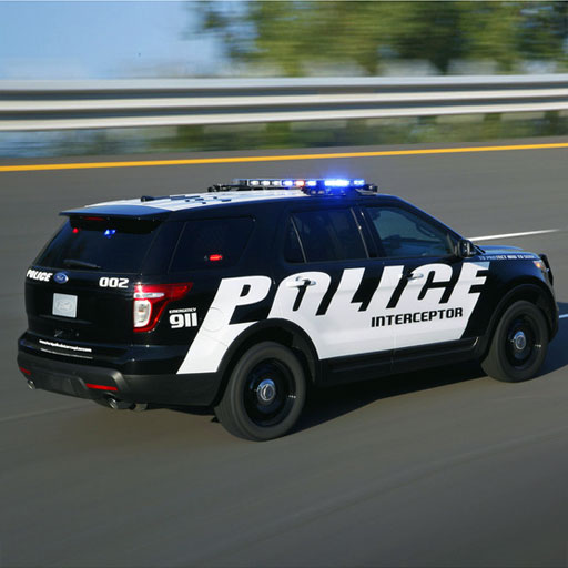 - Speed Racing:police car