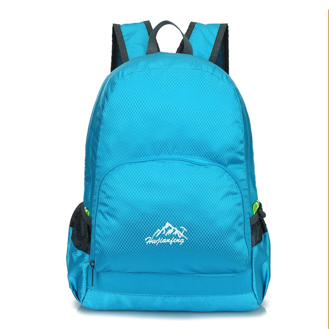f093c6a30b77 LJ Sport Lightweight Packable Water Resistant Hiking Backpack ...