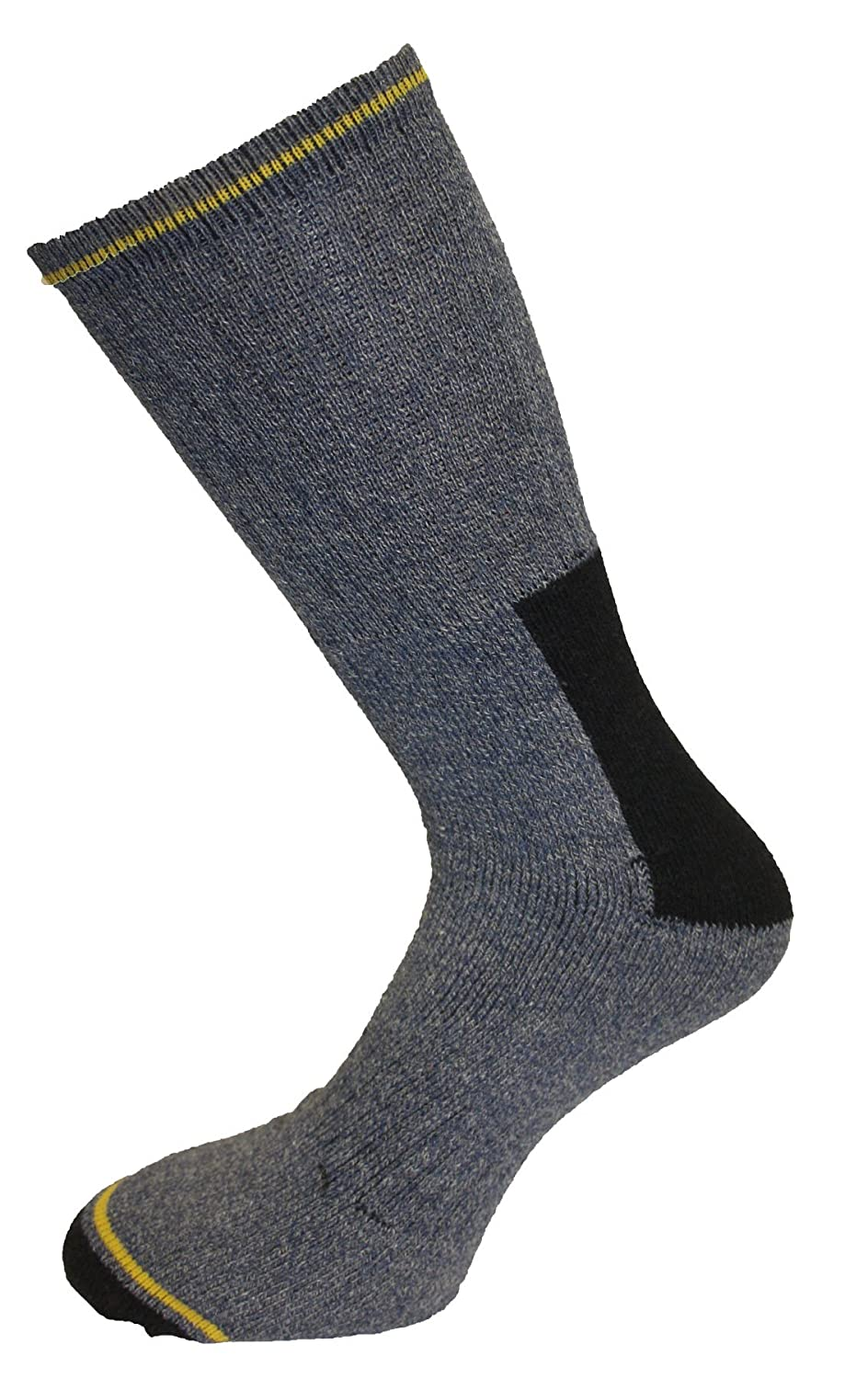 10 Pairs Mens Heavy Duty Casual Or Work Socks Size 6-11 Cotton Rich - Cushioned Support ZZ-MSOX-1265-6pk-6-11