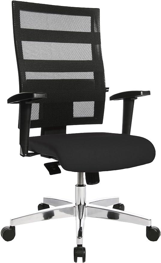 Bürostuhl Drehstuhl Schreibtischstuhl Sessel Topstar X-Pander schwarz rot B-Ware