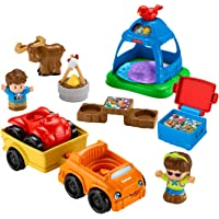 Fisher-Price Little People Going Camping Playset